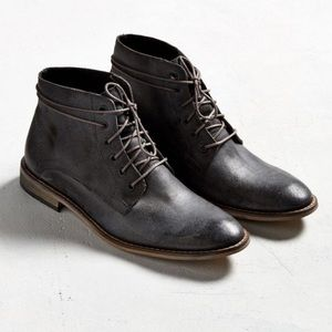 Urban Outfitters Distressed Lace-Up Boot